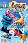 Cover for Adventure Time (Boom! Studios, 2012 series) #1 [Annapolis Comic Con Exclusive Cover by Sanford Greene]