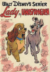 Cover Thumbnail for Walt Disney's serier (Hjemmet / Egmont, 1950 series) #1/1956