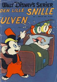 Cover Thumbnail for Walt Disney's serier (Hjemmet / Egmont, 1950 series) #2/1956