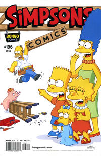 Cover Thumbnail for Simpsons Comics (Bongo, 1993 series) #196