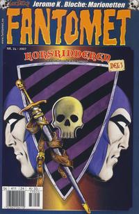 Cover Thumbnail for Fantomet (Hjemmet / Egmont, 1998 series) #24/2007