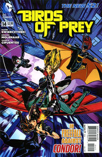 Cover Thumbnail for Birds of Prey (DC, 2011 series) #14
