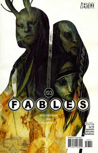 Cover Thumbnail for Fables (DC, 2002 series) #123