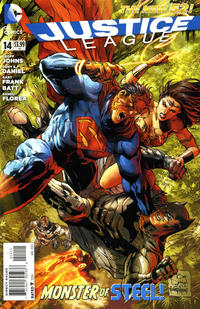 Cover Thumbnail for Justice League (DC, 2011 series) #14 [Tony Daniel Standard Cover]