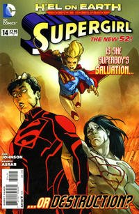 Cover Thumbnail for Supergirl (DC, 2011 series) #14 [Direct Sales]