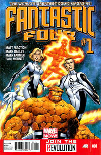 Cover Thumbnail for Fantastic Four (Marvel, 2013 series) #1