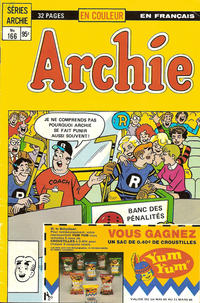 Cover Thumbnail for Archie (Editions Héritage, 1971 series) #166