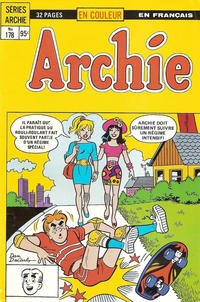 Cover Thumbnail for Archie (Editions Héritage, 1971 series) #178