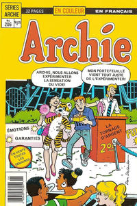 Cover Thumbnail for Archie (Editions Héritage, 1971 series) #206