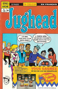 Cover Thumbnail for Jughead (Editions Héritage, 1972 series) #135