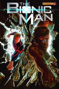 Cover Thumbnail for Bionic Man (Dynamite Entertainment, 2011 series) #14 [Cover A (Main) Alex Ross]