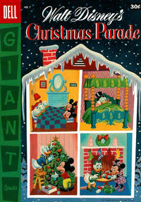 Cover Thumbnail for Walt Disney's Christmas Parade (Dell, 1949 series) #7 [30¢]