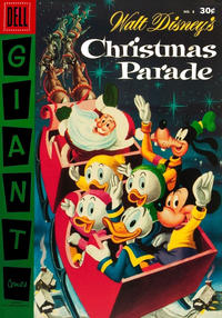 Cover Thumbnail for Walt Disney's Christmas Parade (Dell, 1949 series) #8 [30¢]
