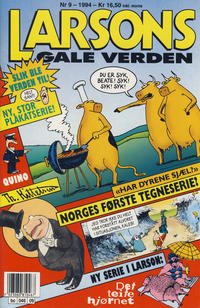 Cover Thumbnail for Larsons gale verden (Bladkompaniet / Schibsted, 1992 series) #9/1994