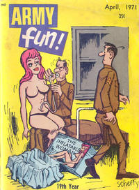 Cover Thumbnail for Army Fun (Prize, 1952 series) #v10#9
