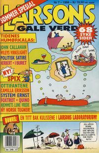 Cover Thumbnail for Larsons gale verden (Bladkompaniet, 1992 series) #7/1994