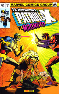 Cover Thumbnail for Marvel Gold. La Imposible Patrulla-X (Panini España, 2011 series) #3 - Vs. Magneto