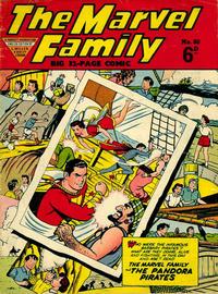 Cover Thumbnail for The Marvel Family (L. Miller & Son, 1950 series) #80
