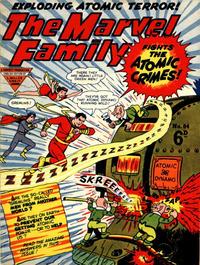 Cover Thumbnail for The Marvel Family (L. Miller & Son, 1950 series) #84