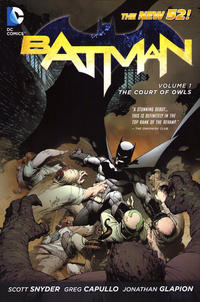 Cover Thumbnail for Batman (DC, 2012 series) #1 - The Court of Owls