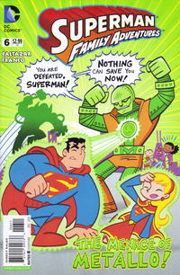 Cover Thumbnail for Superman Family Adventures (DC, 2012 series) #6 [Direct Sales]