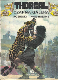 Cover Thumbnail for Thorgal (Orbita, 1989 series) #4 - Czarna galera