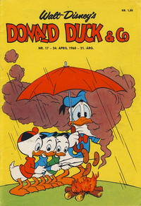 Cover Thumbnail for Donald Duck & Co (Hjemmet / Egmont, 1948 series) #17/1968