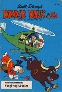 Cover Thumbnail for Donald Duck & Co (Hjemmet / Egmont, 1948 series) #18/1968
