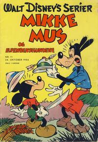 Cover Thumbnail for Walt Disney's serier (Hjemmet / Egmont, 1950 series) #11/1956