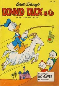 Cover Thumbnail for Donald Duck & Co (Hjemmet / Egmont, 1948 series) #23/1968