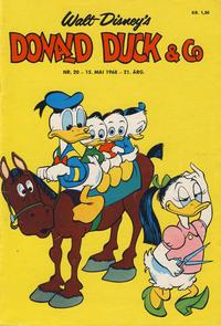 Cover Thumbnail for Donald Duck & Co (Hjemmet / Egmont, 1948 series) #20/1968