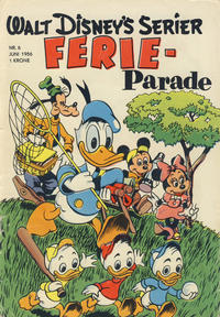 Cover Thumbnail for Walt Disney's serier (Hjemmet / Egmont, 1950 series) #6/1956