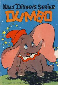 Cover Thumbnail for Walt Disney's serier (Hjemmet / Egmont, 1950 series) #8/1956