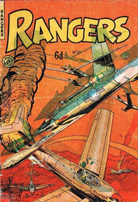 Cover for Rangers Comics (H. John Edwards, 1950 ? series) #21