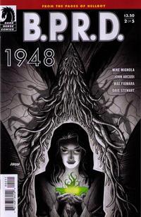 Cover Thumbnail for B.P.R.D.: 1948 (Dark Horse, 2012 series) #2