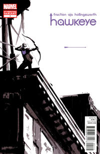 Cover Thumbnail for Hawkeye (Marvel, 2012 series) #1 [2nd Printing Cover by David Aja]