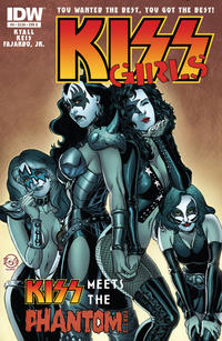 Cover Thumbnail for Kiss (IDW, 2012 series) #6 [Cover B by Jamal Igle]