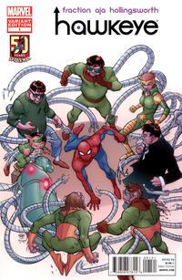 Cover for Hawkeye (Marvel, 2012 series) #1 [Adi Granov variant]