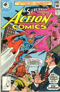 Cover Thumbnail for Action Comics (DC, 1938 series) #498 [Whitman]