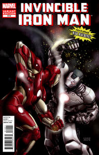 Cover Thumbnail for Invincible Iron Man (Marvel, 2008 series) #510 [Marvel Comics 50th Anniversary Variant by Michael Choi]