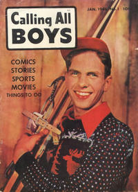 Cover Thumbnail for Calling All Boys (Parents' Magazine Press, 1946 series) #1