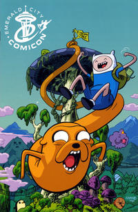 Cover Thumbnail for Adventure Time (Boom! Studios, 2012 series) #1 [Emerald City Comicon Exclusive Variant by Chris Samnee]
