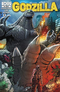 Cover Thumbnail for Godzilla (IDW, 2012 series) #7 [Retailer incentive]