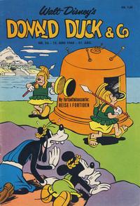 Cover Thumbnail for Donald Duck & Co (Hjemmet / Egmont, 1948 series) #24/1968