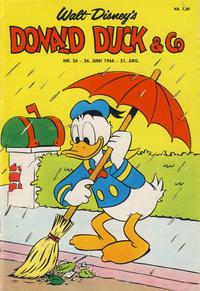 Cover Thumbnail for Donald Duck & Co (Hjemmet / Egmont, 1948 series) #26/1968