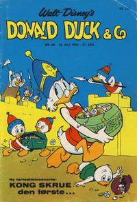 Cover Thumbnail for Donald Duck & Co (Hjemmet / Egmont, 1948 series) #28/1968