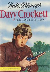 Cover Thumbnail for Walt Disney's Davy Crockett præriens beste mann (Hjemmet / Egmont, 1956 series)