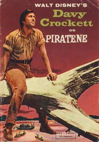 Cover Thumbnail for Walt Disney's Davy Crockett og piratene (Hjemmet / Egmont, 1957 series)