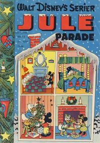 Cover Thumbnail for Walt Disney's serier (Hjemmet / Egmont, 1950 series) #12/1956