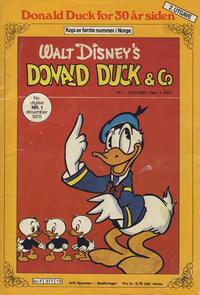 Cover Thumbnail for Donald Duck for 30 år siden (Hjemmet / Egmont, 1978 series) #1/1978 [2. opplag]